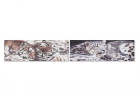 PICTURE CANVAS PINE TREE 135X2,5X45 TIGERS 2 MOD.