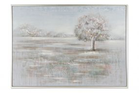 PICTURE CANVAS PS 156X3,8X106 TREE HAND PAINTED