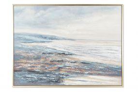 PICTURE CANVAS PS 156X4X106 BEACH HAND PAINTED