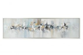 PICTURE CANVAS PS 220X3,8X60 ABSTRACT HAND PAINTED