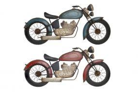WALL DECORATION METAL 98X5X48 MOTORCYCLE 2 MOD.