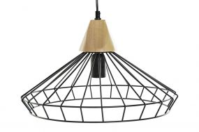 CEILING LAMP METAL 39X39X27 UP TO 119 BLACK
