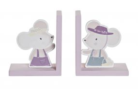 BOOKEND MDF 12,5X9,5X14,5 MOUSE 2 MOD.