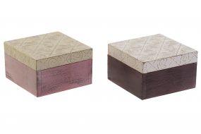 BOX MANGO BRASS 10X10X6,5 2 MOD.