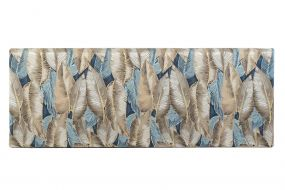 BED HEADER POLYESTER WOOD 160X10X60 FEATHERS