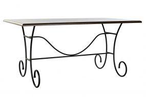 TABLE SPRUCE FORGING 159X90X78 BLACK