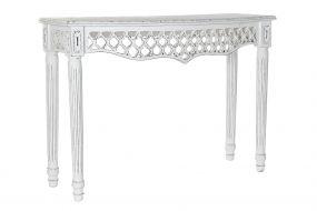 CONSOLE TABLE MANGO 108X38X77 DECAPE WHITE