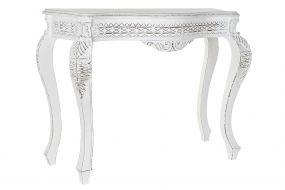 CONSOLE TABLE MANGO WOOD 106X39X77 WHITE
