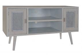 TV CABINET WOOD MDF 110X41X61 WHITE