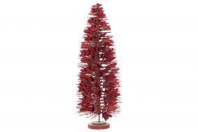 TREE PVC 26X26X65 RED
