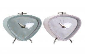 CLOCK METAL GLASS 11X4,8X9,3 2 MOD.