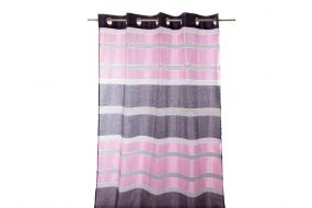 CURTAIN POLYESTER 140X270 RINGS LILAC