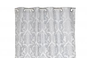 CURTAIN POLYESTER 140X270 180 GSM. GREY