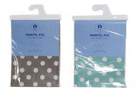 MANTEL PVC 140X140 TOPOS 2 SURT.