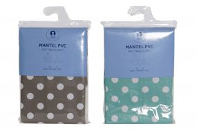 MANTEL PVC 180X240 TOPOS 2 SURT.