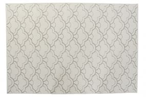 CARPET POLYESTER 120X180X1 900 GSM, CLOUDS WHITE