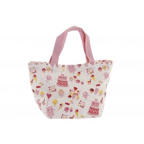 BAG CANVAS 34X14X32 SUPERSWEET PINK