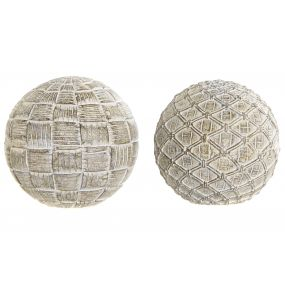 DECORATION BALL RESIN 10X10 DECAPE 2 MOD.