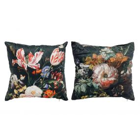 CUSHION VELVET 43X43 500 GR. HYPERFLORAL 2 MOD.