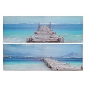 PICTURE CANVAS WOOD 135X2,3X45 SEA 2 MOD.