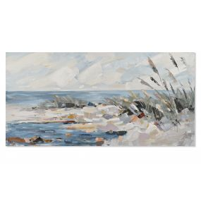 PICTURE CANVAS PINE TREE 140X4X70 BEACH