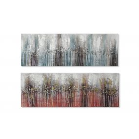 PICTURE CANVAS MDF 150X2,8X50 ABSTRACT 2 MOD.