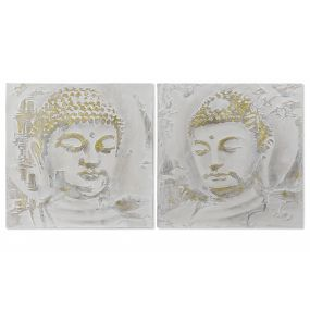 PICTURE CANVAS MDF 80X3X80 BUDDHA 2 MOD.