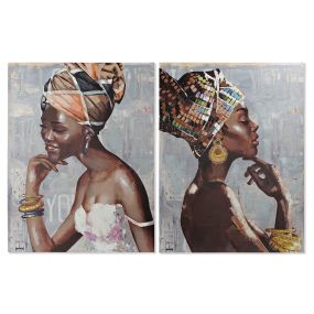 PICTURE CANVAS MDF 90X2,8X120 AFRICAN 2 MOD.