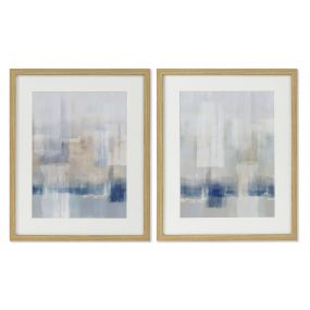 PICTURE CANVAS GLASS 43X3X53 ABSTRACT 2 MOD.