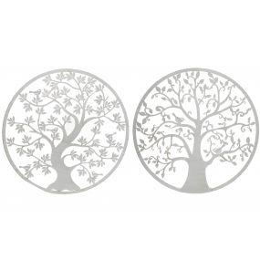 WALL DECORATION METAL 100X1X100 TREE OF LIFE 2 MOD