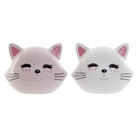 MONEY BOX DOLOMITE 15X10X12 LITTLE KITTEN 2 MOD.