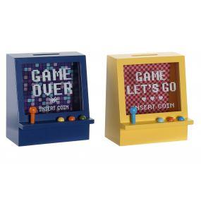 MONEY BOX MDF 16X10,5X18 GAME OVER 2 MOD.