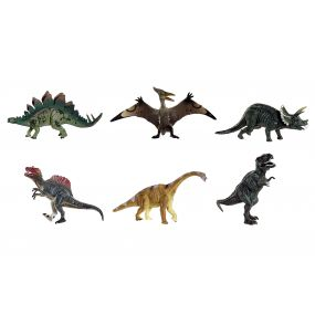 TOY SET 3 PVC 25X9X10 DINOSAUR