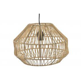 CEILING LAMP FIBER METAL 35X24