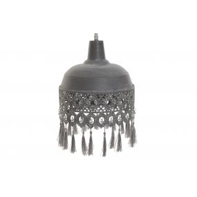 CEILING LAMP METAL POLYESTER 26X26X27 FLECOS AGED