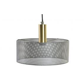 CEILING LAMP METAL 30X30X120 GREY