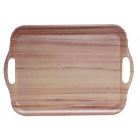 TRAY RECYCLED BAMBOO 42X29,5X2 42 WOOD NATURAL
