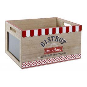 BOX MDF 35X25X20 NATURAL