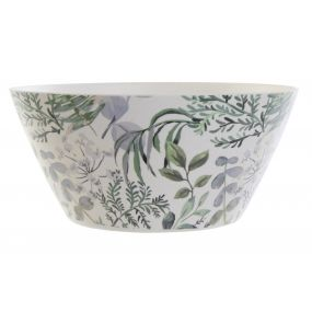 SALAD BOWL RECYCLED BAMBOO 24X24X11,5 0 GREEN