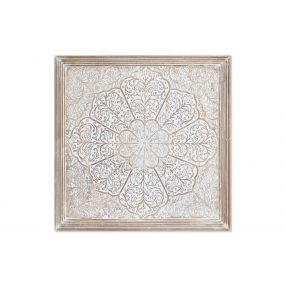 WALL DECORATION MANGO 61X3,8X61 MANDALA DECAPE