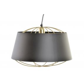CEILING LAMP IRON 40X40X26 /124CM GOLDEN