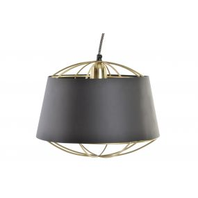CEILING LAMP IRON 31X31X24 /124 GOLDEN