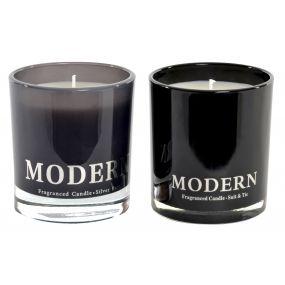 CANDLE GLASS 8X9,5 MODERN 2 MOD.