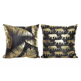 CUSHION POLYESTER 45X45 450 GR. JUNGLE 2 MOD.