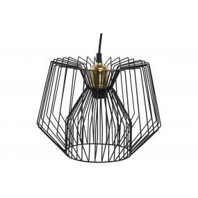 CEILING LAMP METAL 30X30X23 BLACK