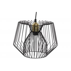 CEILING LAMP METAL 30X30X23 BLACK