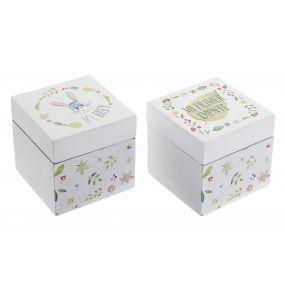 BOX MDF 7X7X7 LITTLE RABBIT 2 MOD.