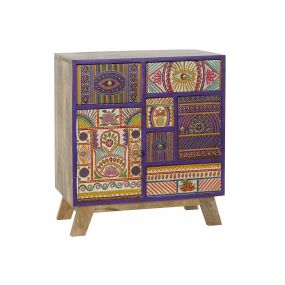 DRAWER MANGO 60X35X68 MULTICOLORED