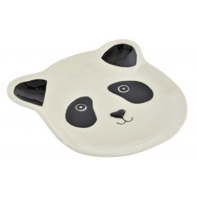 TRAY KEYS PORCELAIN 14X14X2,2 PANDA WHITE