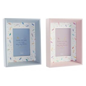 PHOTO FRAME WOOD GLASS 10X15 2 MOD.